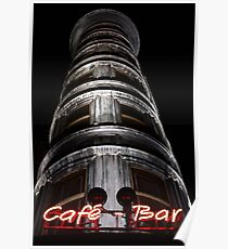 the Columbus Tower Cafe - Bar Poster
