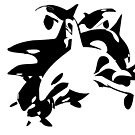 The White Orca - Black and White by Droemar
