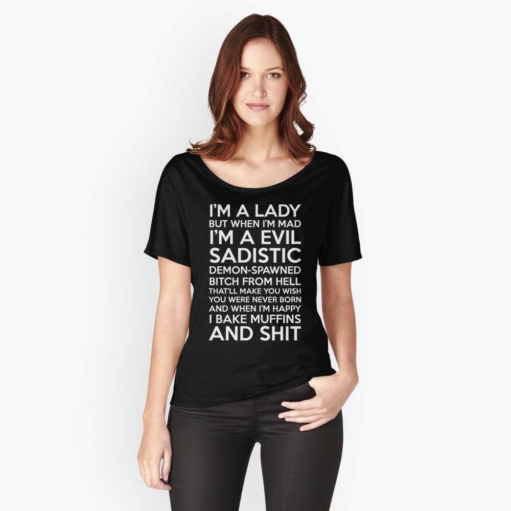 Ich bin eine Dame Loose Fit T-Shirt