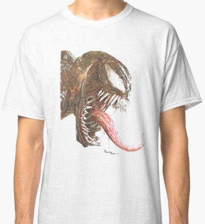 Alien FangsVenom Ink Painting Classic T-Shirt