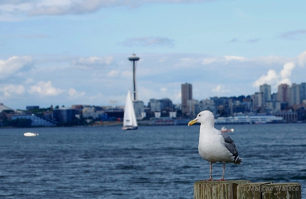 With an eye on Seattle.... by Marjorie Wallace