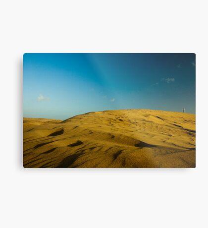 Dunes at Maspalomas Metal Print