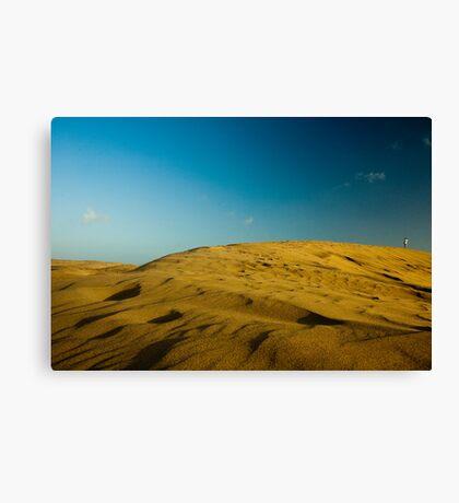 Dunes at Maspalomas Canvas Print