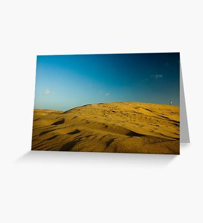 Dunes at Maspalomas Greeting Card