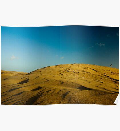 Dunes at Maspalomas Poster