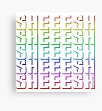 SHEEESH YOUTH WORD 2019 (colored) Metal Print