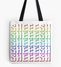 SHEEESH YOUTH WORD 2019 (colored) Tote Bag