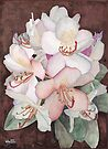 Stylized Rhododendron by Ken Powers