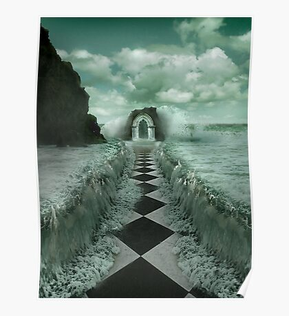 ENTRANCE TO THE OCEAN Poster