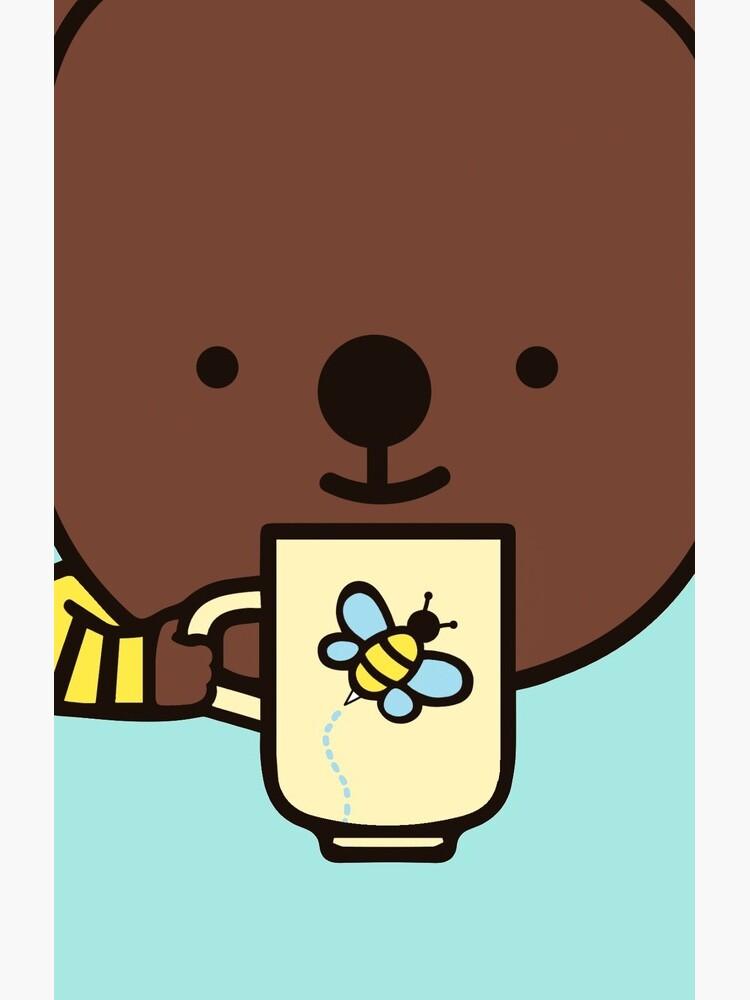 Genießen Sie die Kaffeezeit mit Kegel. von IBerryDesigns