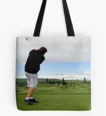 Golf Swing A Tote Bag