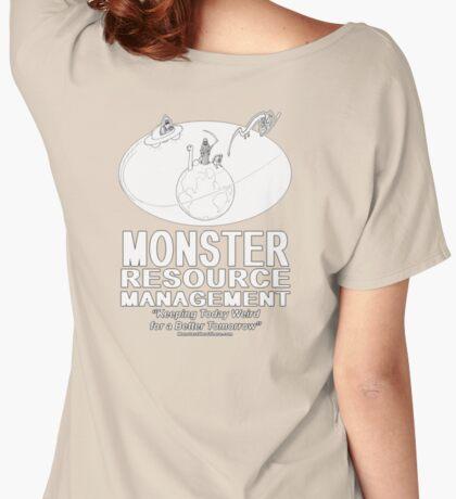 Monster Resource Management Women's Relaxed Fit T-Shirt