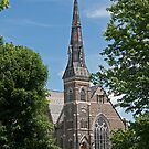 First Baptist Church, Brockville. 1879. by Mike Oxley