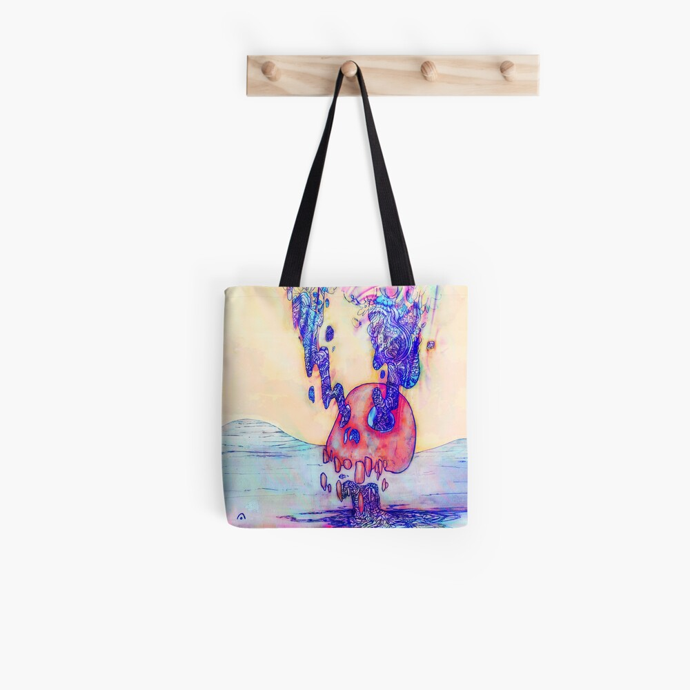 Nexxt | Burning Skull Tote Bag
