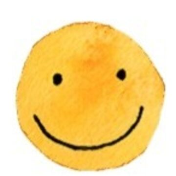 sonrisa de acuarela de stickersnstuff