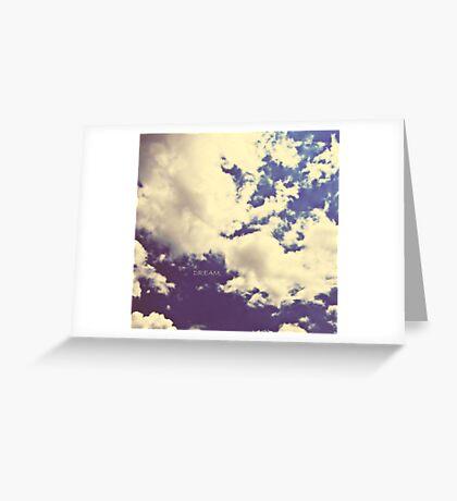 DREAM. Greeting Card