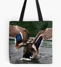 Wings Of The Mallard Tote Bag