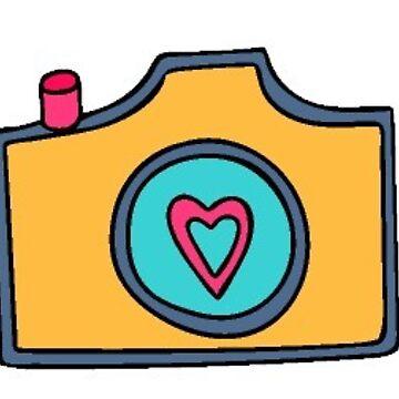 cámara de stickersnstuff