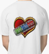 I Love Films Classic T-Shirt