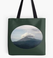 top of the mountain paintwork Tote Bag