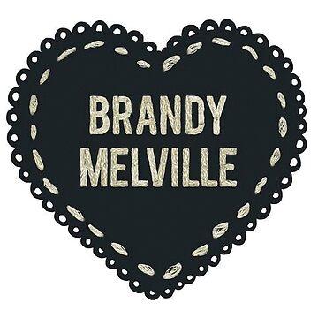 brandy melville sticker  by vanessachammas