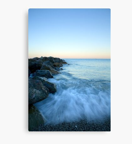 Dawn light in Italy Canvas Print