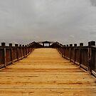 Golden Pier by artgoddess