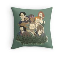 The Walking Dead Throw Pillow