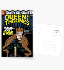 The Throne Postcards