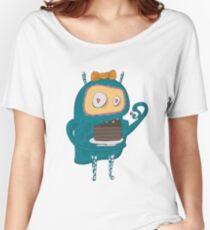 Cakes... cakes for monsters!  Women's Relaxed Fit T-Shirt