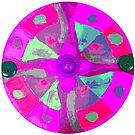 Pretty in Pink Mandala  by EmilySutin