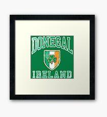 Donegal, Ireland with Shamrock Framed Print