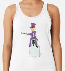 Jailbot and the Warden Racerback Tank Top