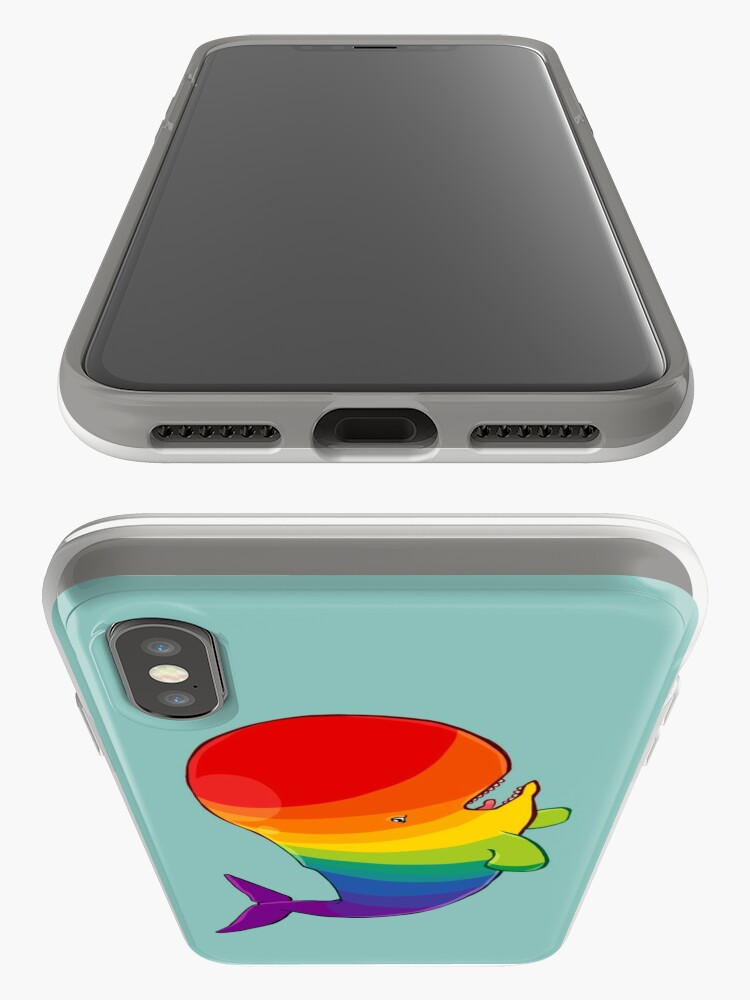 Alternate view of Homosexuwhale - no text iPhone Case & Cover
