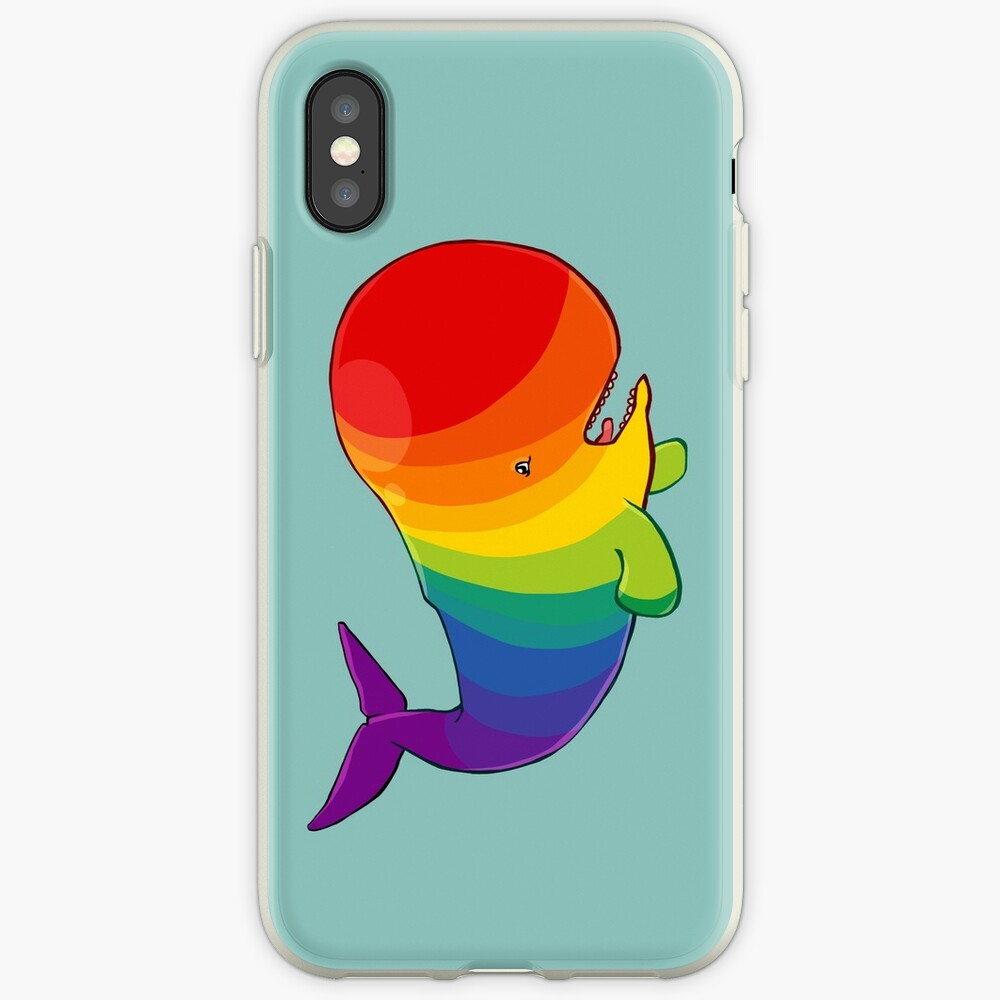 Homosexuwhale - no text iPhone Case & Cover
