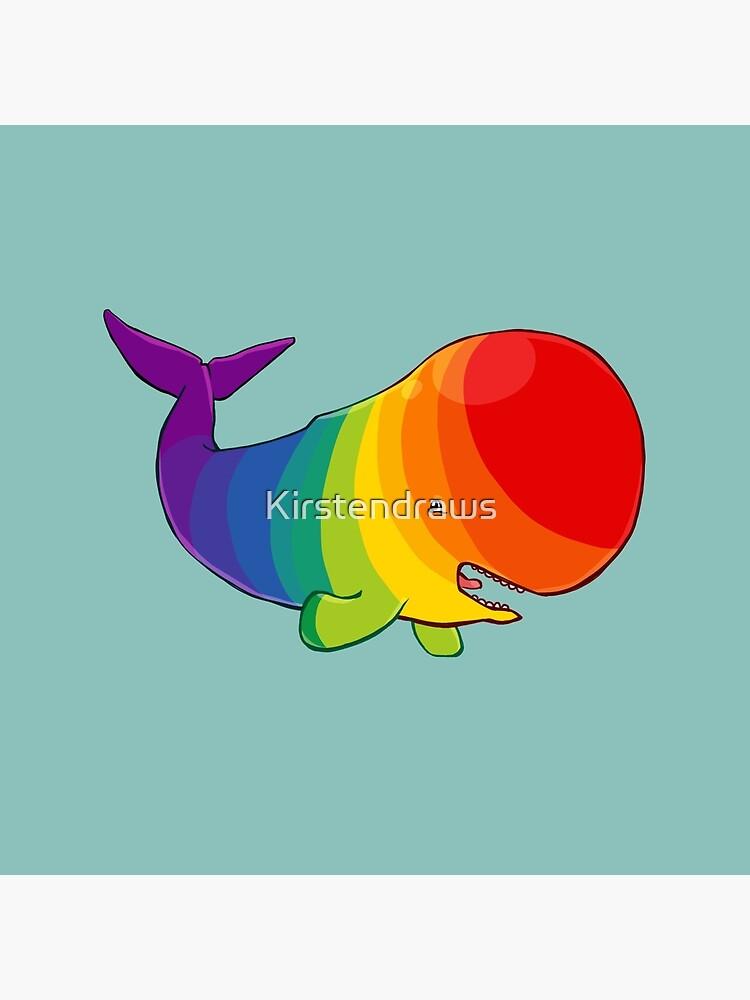 Homosexuwhale - kein Text von Kirstendraws