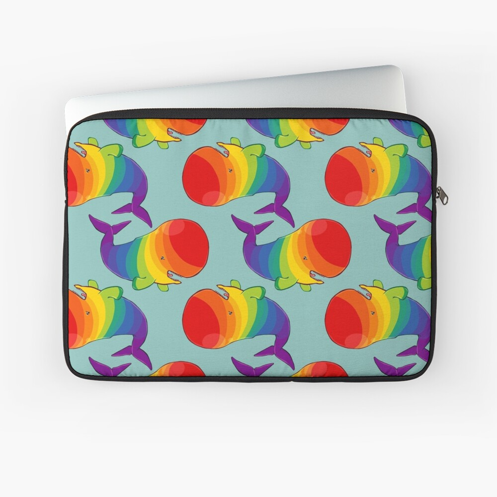 Homosexuwhale - no text Laptop Sleeve