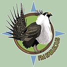 Fabulous Greater Sage-Grouse (Advocates for the West) by BennuBirdy