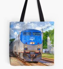 Pulling into Station Tote Bag