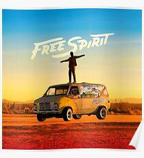 Free Spirit - Khalid album cover Poster