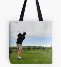 Golf Swing B Tote Bag