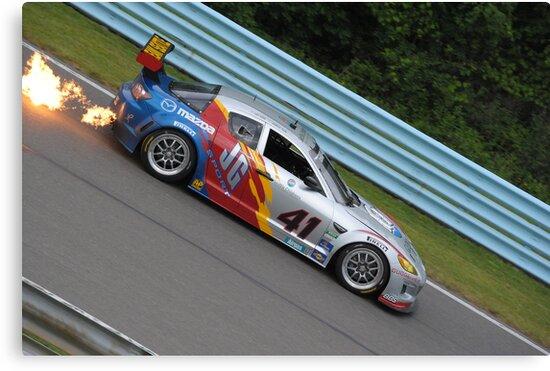 Mazda RX-8 BIG Flames by schnee6