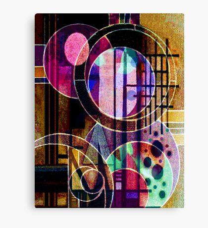 Ode to Kandinsky Canvas Print
