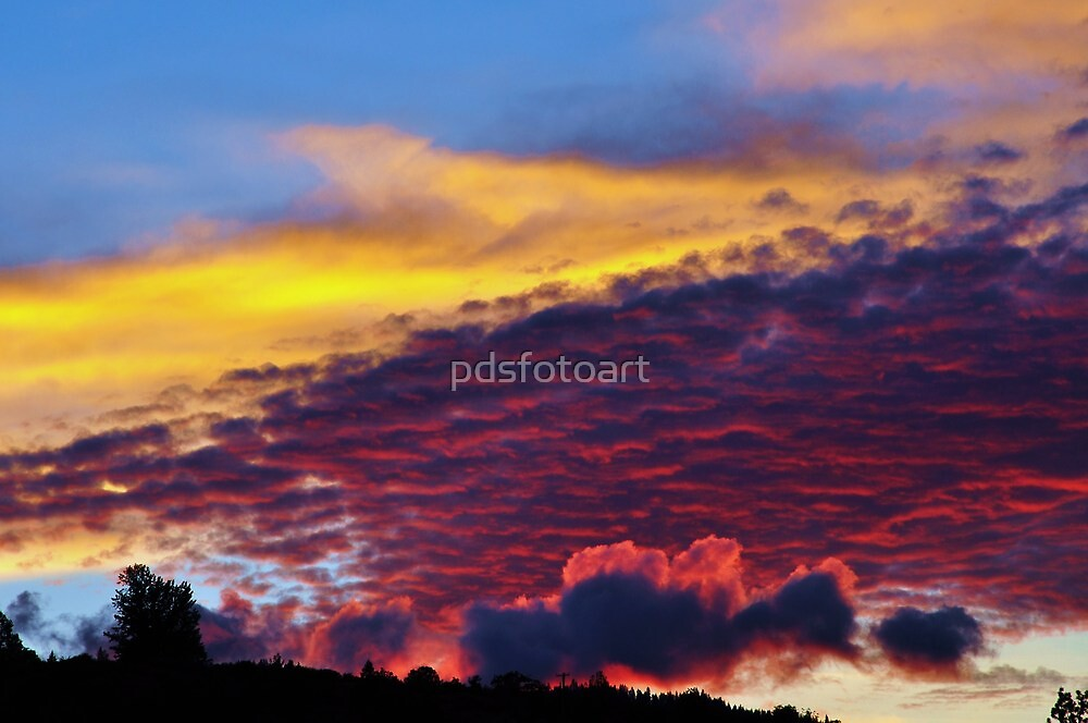 sunset colours by pdsfotoart