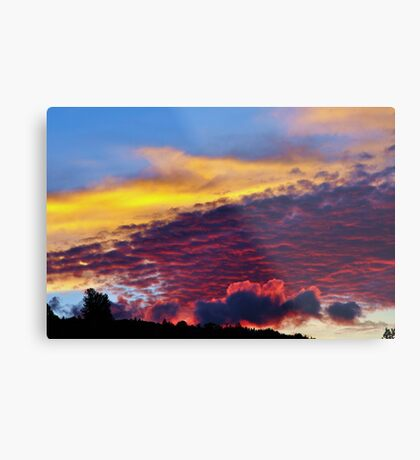 sunset colours Metal Print