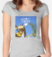 We did it! Yay! Fitted Scoop T-Shirt