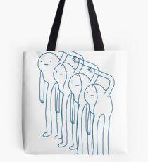 Snow Gollum Tote Bag