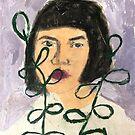 """Ivory Lilac""  by sarahnicolewalk"
