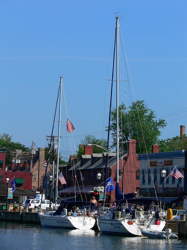 Annapolis City Dock by Hope Ledebur