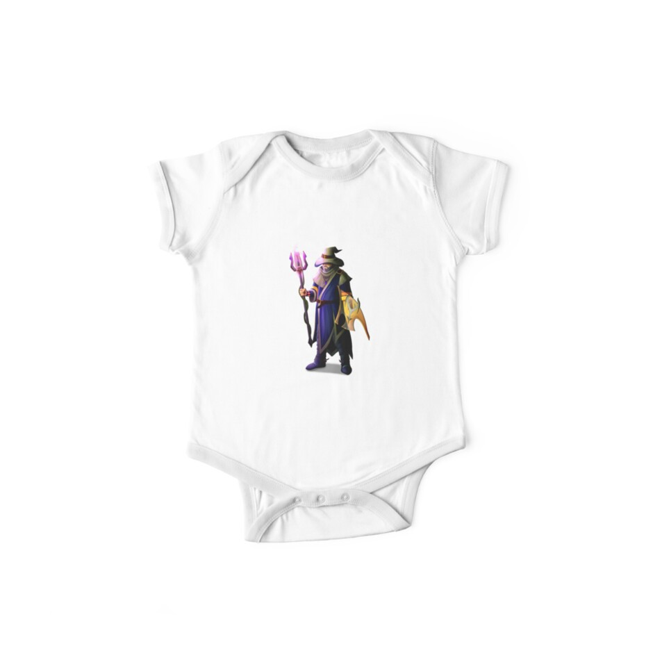 'Ancestral wizard - OSRS' Kids Clothes by DzGraphic